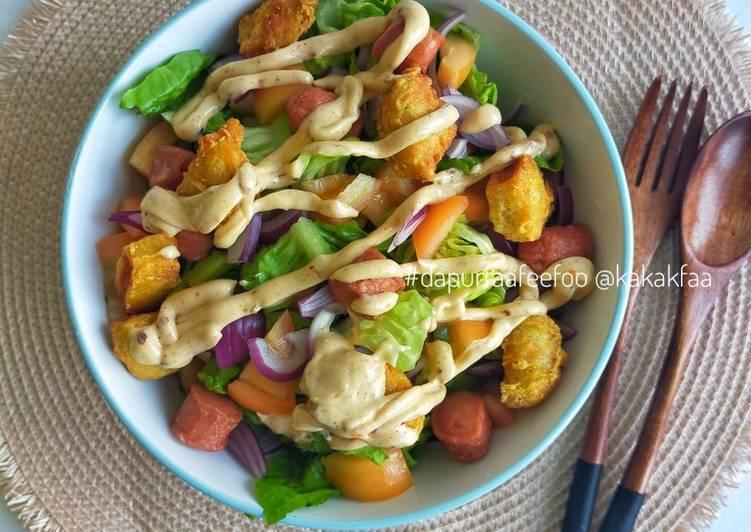 Breakfast Salad Bowl - resepipouler.com