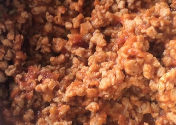 proteina de soja carne moida