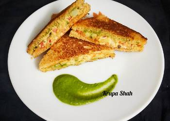 Easiest Way to Cook Appetizing My style toast sandwich