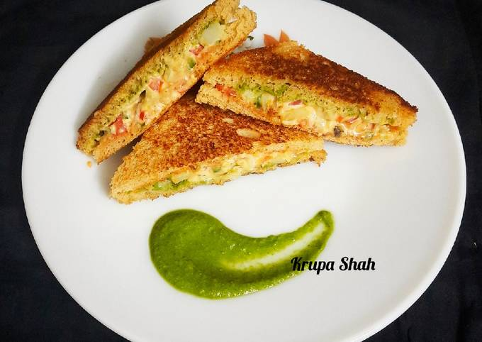 My style toast sandwich