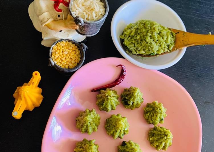 15 Minute Recipe of Speedy Palak Khichdi
