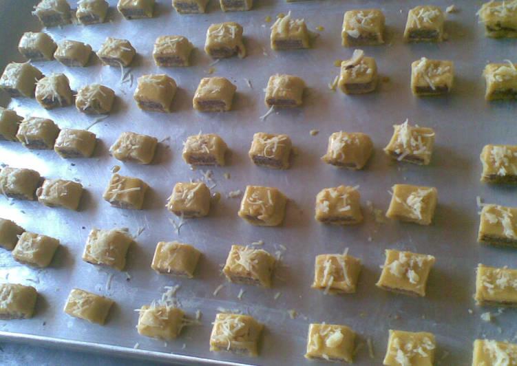 Langkah Mudah untuk Membuat Nastar gulung wafer, Enak Banget