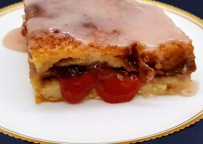 How to Make Yummy Jam and Bread Pudding