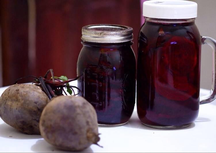 Pickled Beetroots (acar bit)