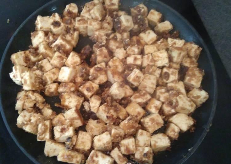 Tofu a la cacahuete
