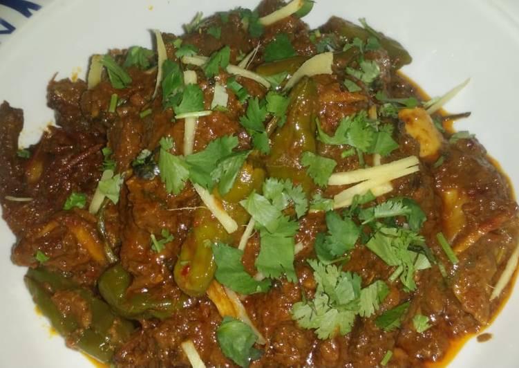 Absolutely Ultimate Dinner Easy Quick Karahi gosht 😍