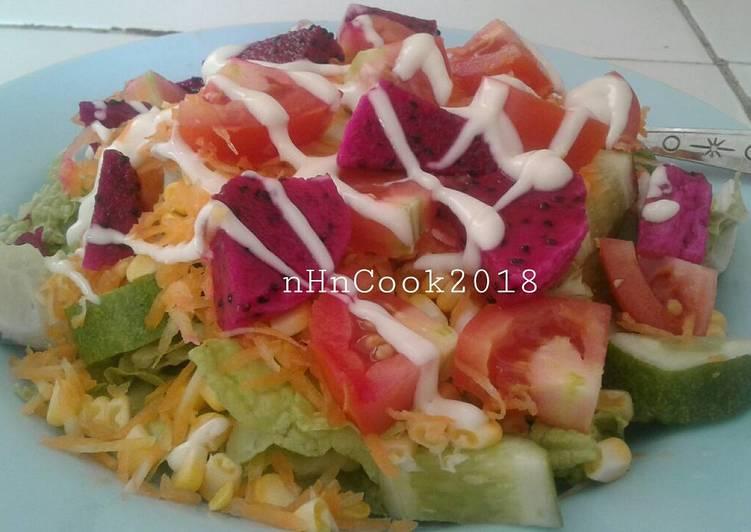 Salad sayur yummy