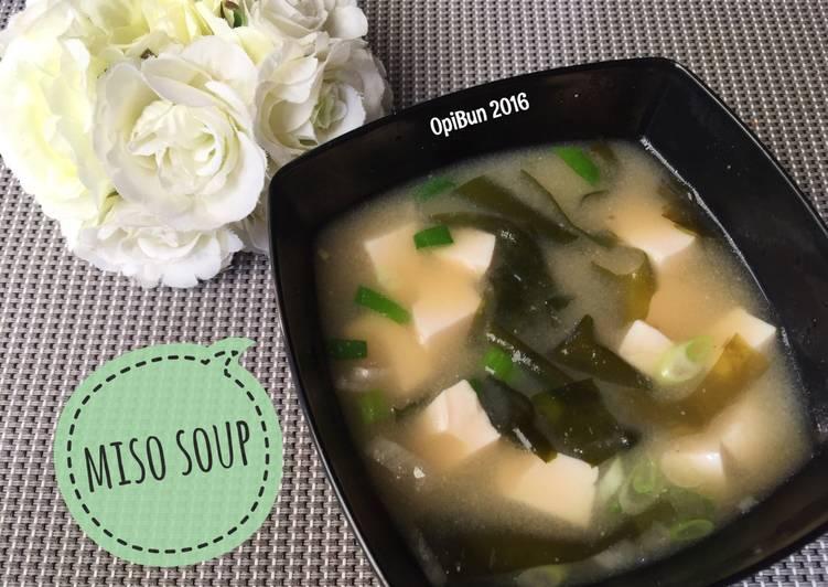 Resep Miso Soup oleh OpiBun - Cookpad