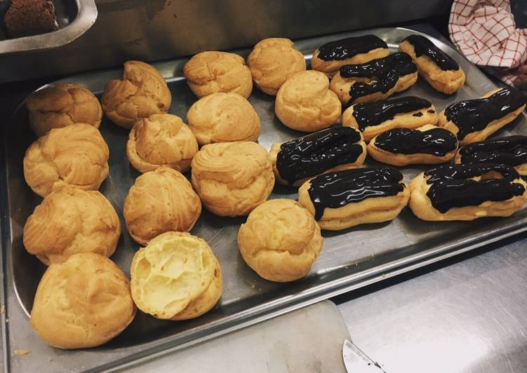 Choux Base (Pastry Puff / Eclair / Kue soes)