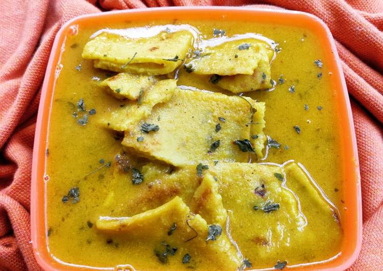 Besan Curry, Helping Your To Be Healthy And Strong with Food