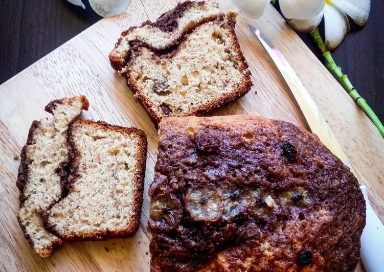 No Oven Banana Cinnamon Bread/Cake (Bolu Panci)