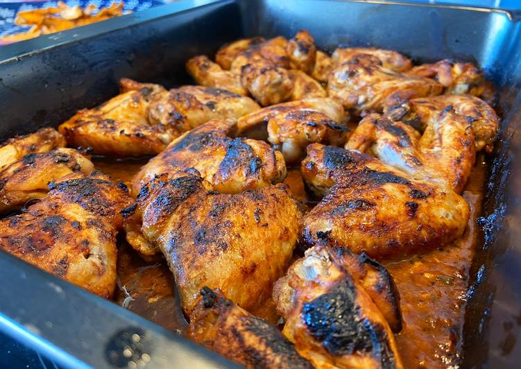 Recipe of Ultimate Best chicken wings marinade