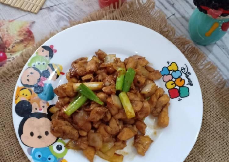 Ayam Saos Bombai