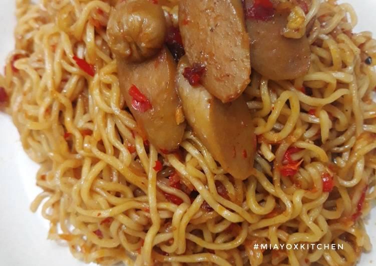 Resep Indomie Goreng Pedas Terbaik