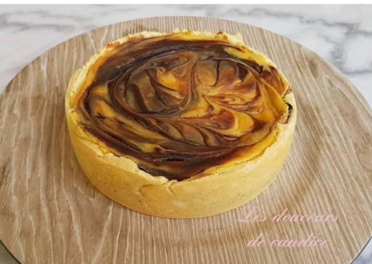 Comment Faire Des Flan pâtissier marbré