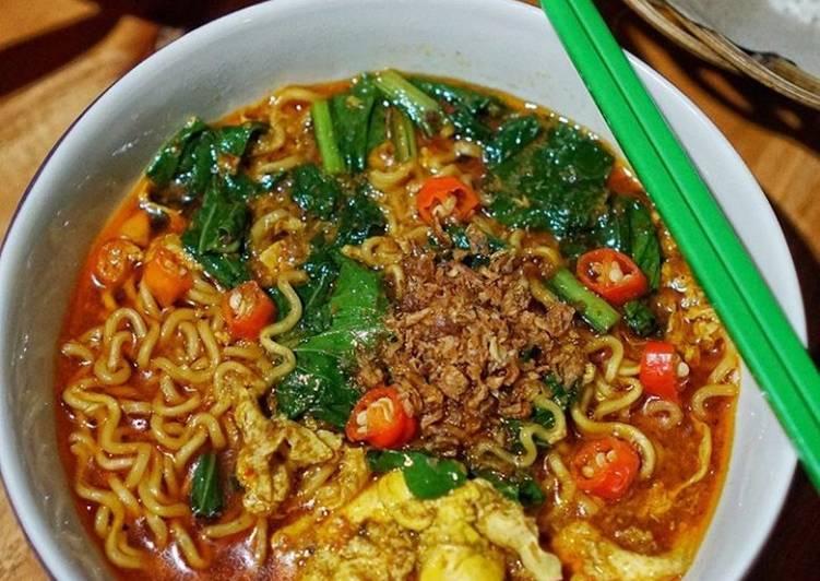 Resep Indomie nyemek lezato Bikin Ngiler