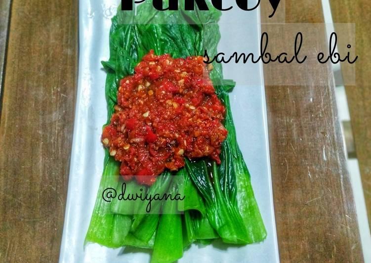 Resep Pakcoy Sambal Ebi Paling Gampang