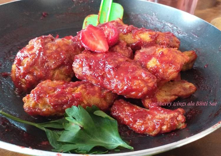 Strawberry Wings