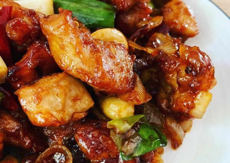 Kungpau Chicken asli enak rasa otentik