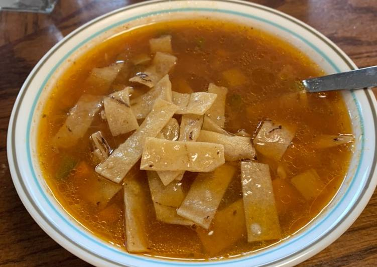 Easiest Way to Prepare Quick Tortilla Soup