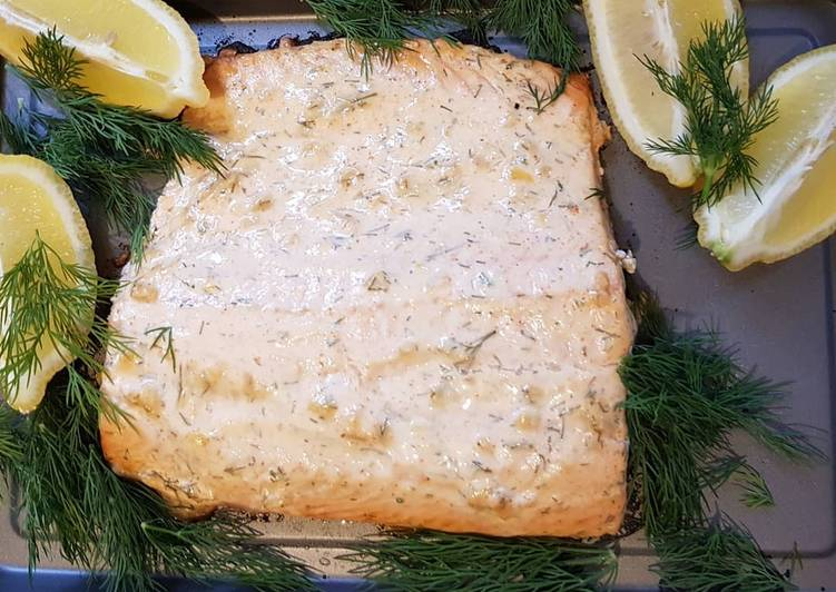 Recipe: Sweet Baked Salmon