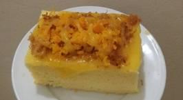 Hình ảnh món Tự làm bánh bông lan trứng muối chuẩn như bánh mua
