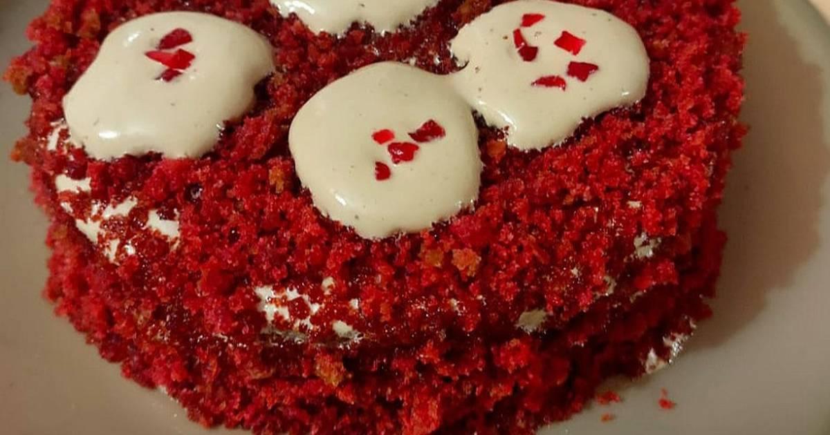 Dalgona Coffee Red Velvet Cake Recipe By Nirupama Mohanty Cookpad