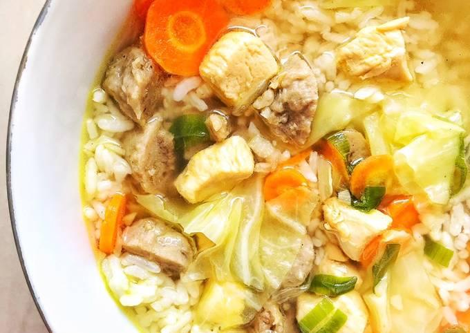Langkah Mudah untuk Membuat Sayur Sop Ayam Bakso, Sempurna