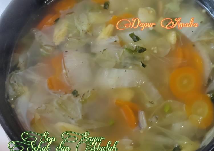 Sup Sayur Sehat dan Mudah - Favorit S