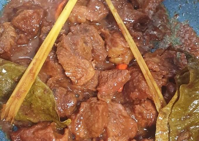 Rendang Daging Jawa