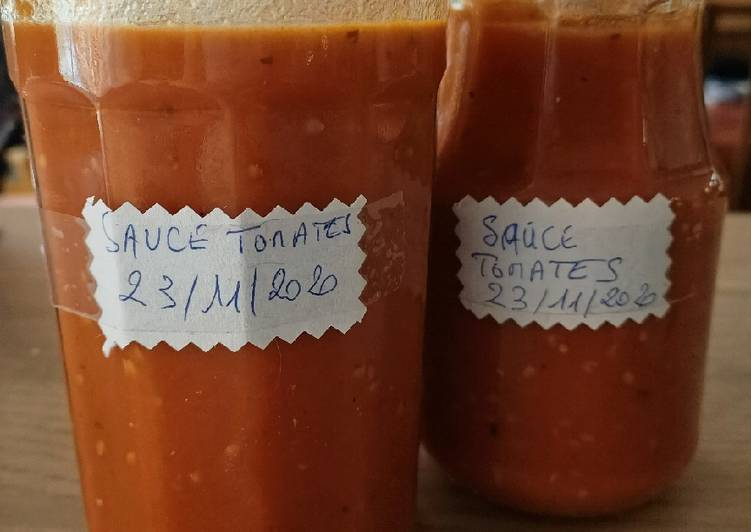 La Recette Pas à Pas Sauce tomates en bocaux au Cook Expert😋😋😋 #cookexpertmagimix