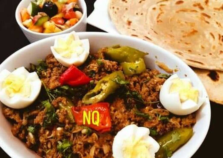 20 Minute Dinner Ideas Diet Perfect Bhuna Anda Qeema Teh walay Parathy ky sath