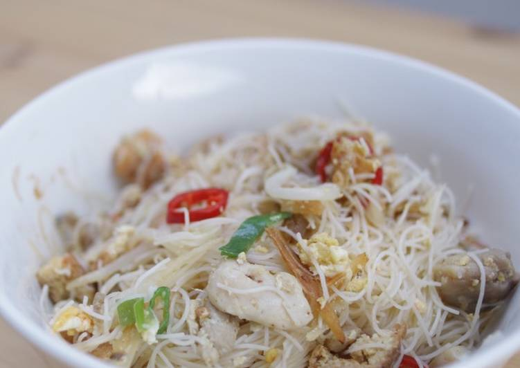 Recipe: Delicious Fried Mee Hoon
