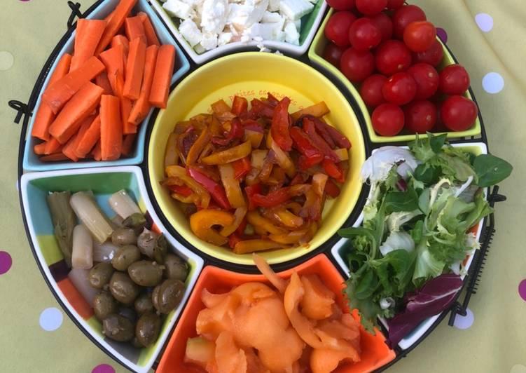 La Recette Pas à Pas Bar à salade