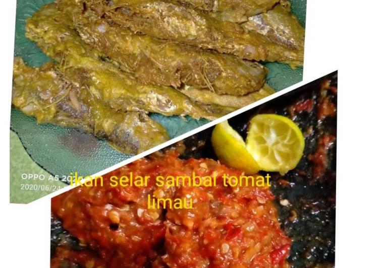 Ikan selar sambal limau