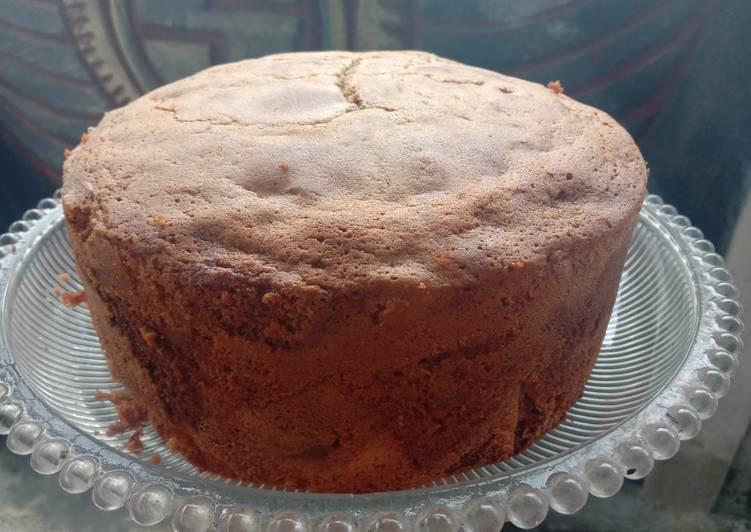 Kue marmer sederhana