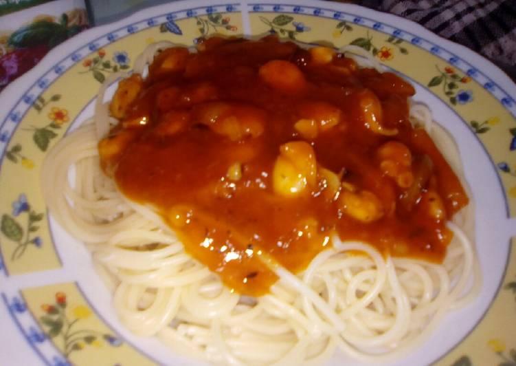 Spaghetti gurita