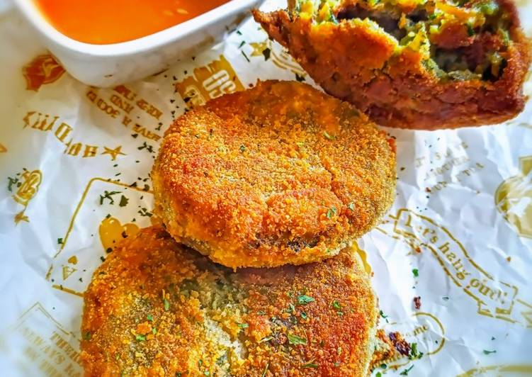 Resep Vegetables katsu/ Katsu sayuran, Lezat Sekali