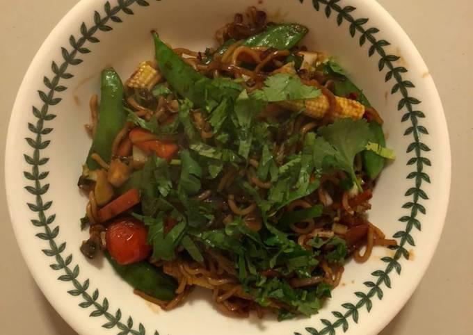 Use-up Vegetable Stir-fry