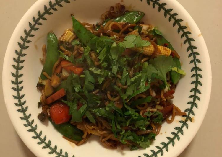 Recipe of Homemade Use-up Vegetable Stir-fry