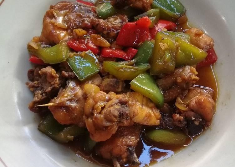 Ayam Kecap Paprika