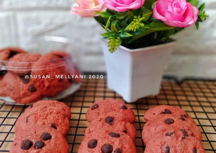 Red velvet butter cookies