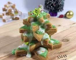 Cookies hias icing sugar - cookies anti gagal - xmas cookie - kue natal - resep cookies hias