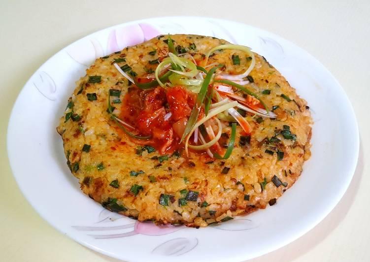 Rice pancake ~ Korean flavor
