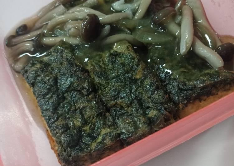 Resep Tahu Bayam Saus Jamur Oleh Nisa Cookpad
