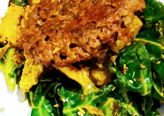 Seitan steak (vegan)