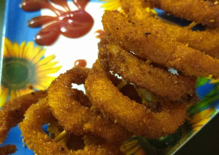 Recipe of Perfect Onion rings