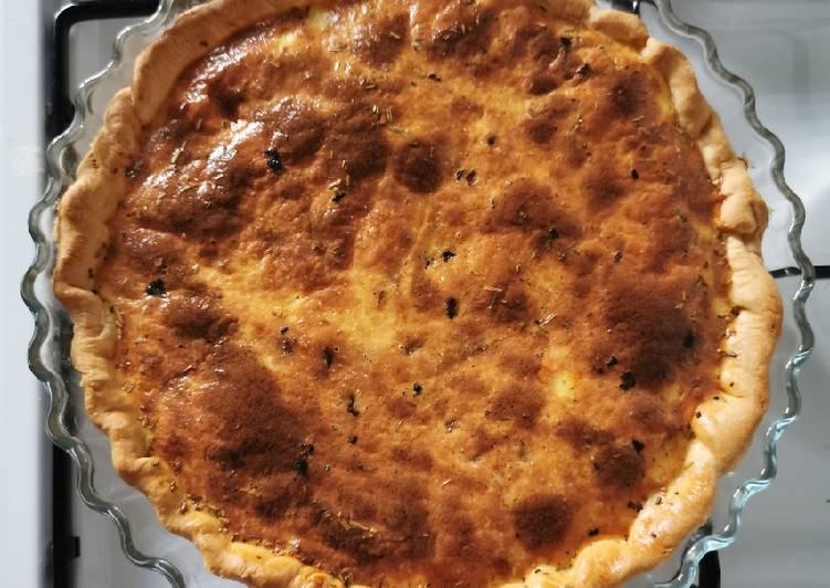 recette Quiche Lorraine délicieux