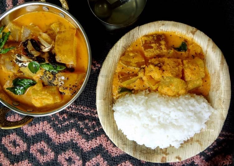 Mangalore Cucumber curry: