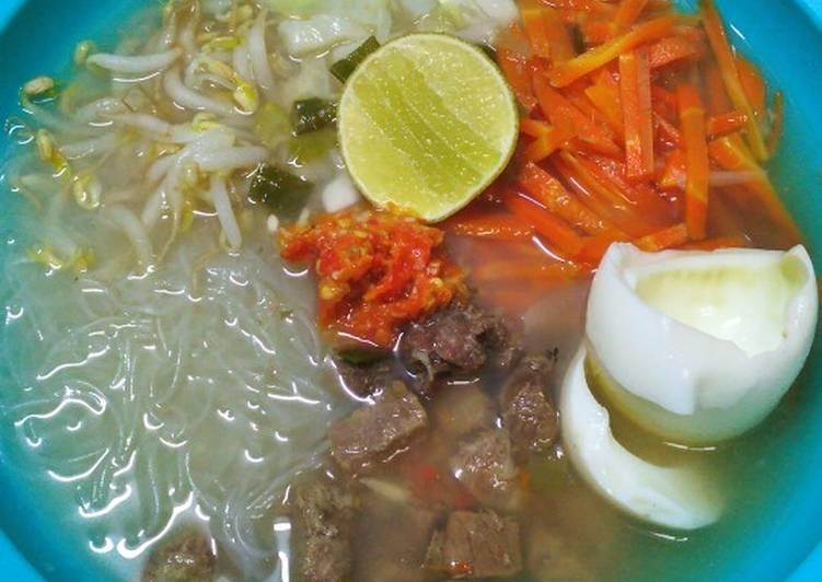 Soto Daging (No Minyak)